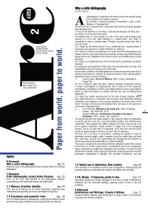 ArcDueCittà World Special Issue