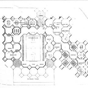 Louis_Kahn_bath house_Trenton_1955