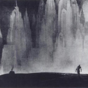Hugh Ferriss, The Lure of the City, 1929