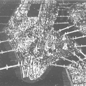 Raymond Hood, Manhattan 1950, 1931