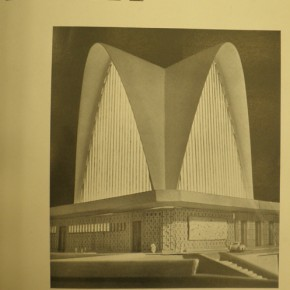 2 - Cover of Australian Architecture Today, June 1960. Photo: A. Condello. National Library of Australia