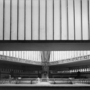 8 - Interior of original model. Courtesy New Norcia Archive