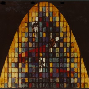 9 - Willy Kaufman, Art glass design. Courtesy New Norcia Archive