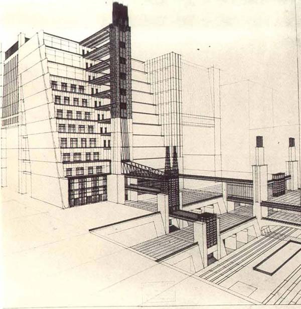 Architettura della citt tra sopravvivenze e profitti for Spargere i piani della casa degli ospiti
