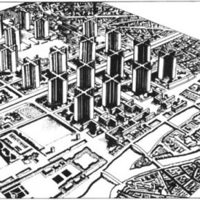 Le Corbusier, Plan Voisin, 1925