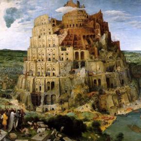Pieter Bruegel il vecchio, La torre di babele, 1563