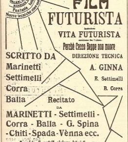 """1_Manifesto di """"Vita futurista"""""""