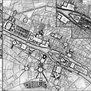 Pierre Patte, Piano degli abbellimenti per Parigi per la gloria di Luigi XV, 1765