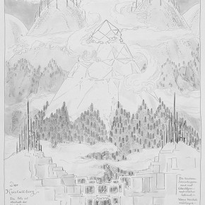 Bruno Taut, Alpine Architecture, 1918