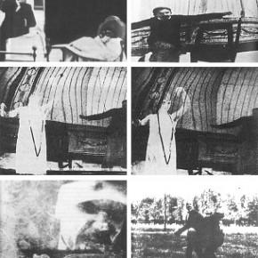 POEMI DI CEMENTO ARMATO (KAMENSKIJ 1914), UN MONTAGGIO SUL MONTAGGIO. Roberto Podda, Giuseppe Boi
