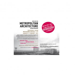 METROPOLITAN ARCHITECTURE MANAGEMENT Workshop
