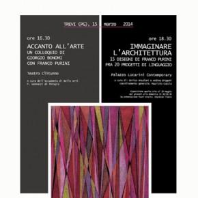 IMMAGINARE L'ARCHITETTURA. 15 disegni di Franco Purini fra 20 progetti di linguaggio