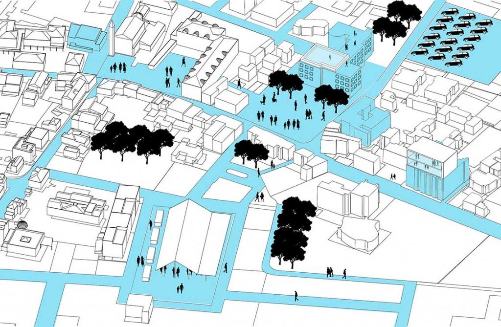 Tavola di progettazione partecipata riassuntiva delle proposte progettuali