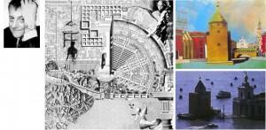 Aldo Rossi, Memoria e immaginazione. Gli archetipi della genesi urbana. L'immagine