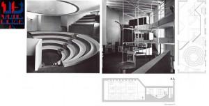 Gruppo ADFR (Almici, d'Alfonso, Ferrari, Rossi), Espositore e teatrino nel Salone d'Onore della XV Triennale.