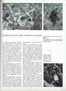"Pagina 45 in ""Spazio"" n.4"