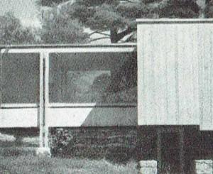 Img.4: Walter Gropius, Marcel Breuer, Casa Chamberlain a Wayland, USA (1940), particolare