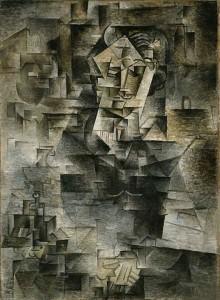 Portrait of Daniel-Henry Kahnweiler Pablo Picasso 1910