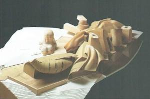 modello finale, 1995 - vista ovest