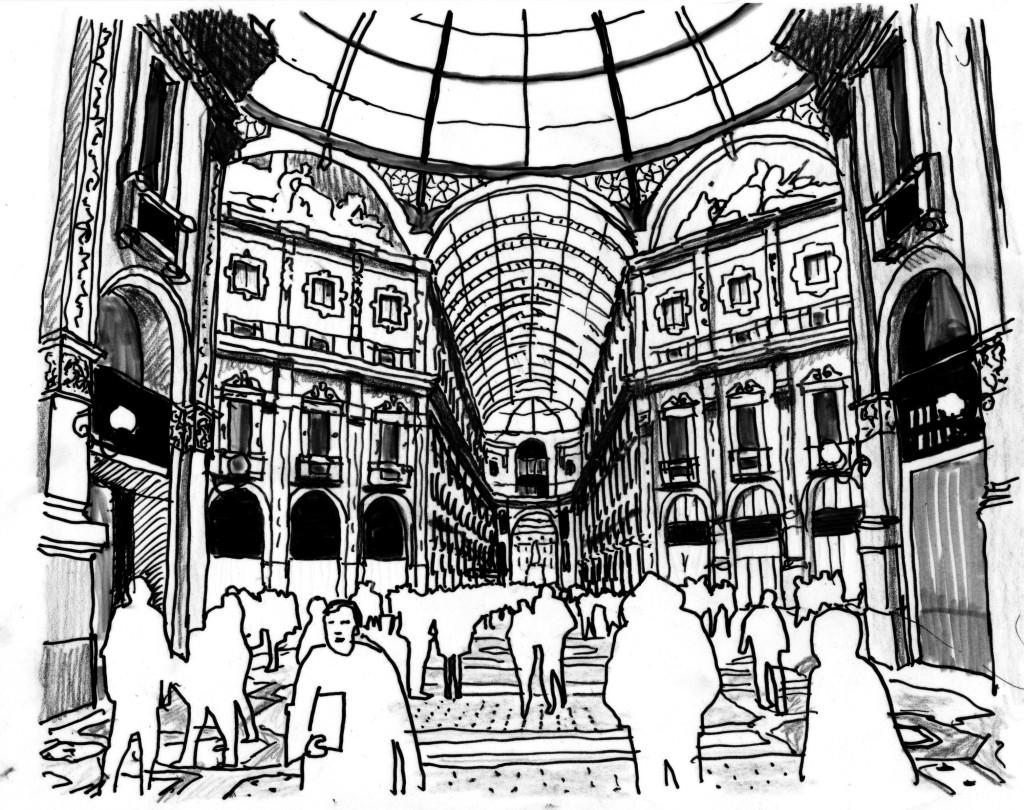 la cupola in Galleria