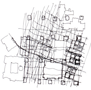 2017.05.19_il disegno a mano libera_Eisenman_Wexner-Art-Center-sch-plan-300x296