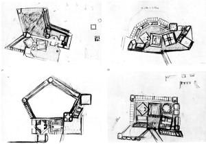 Kahn, studi per il convento delle suore Carmelitane
