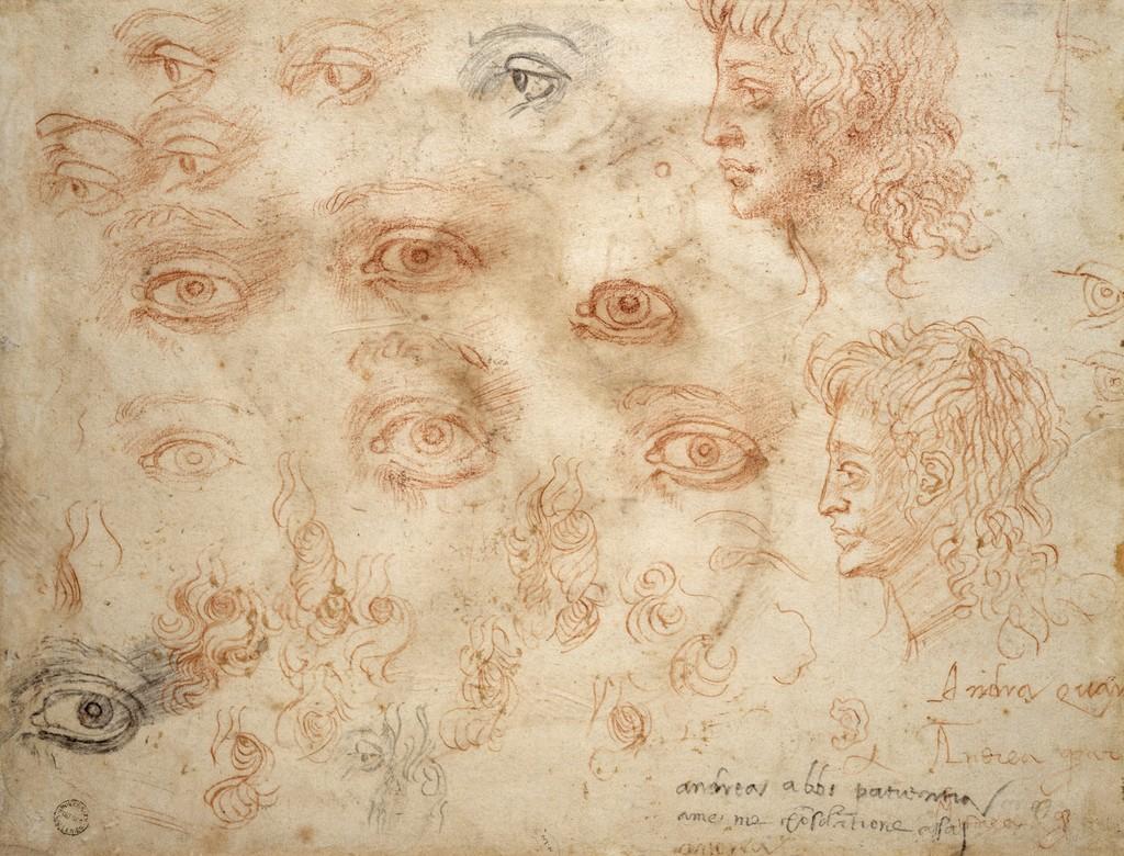 Michelangelo Studio di occhi