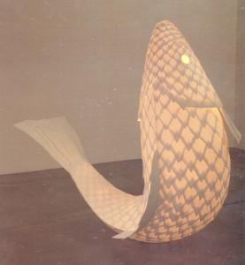 Gehry, lampada pesce