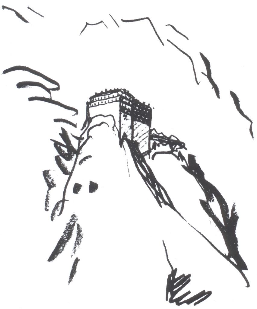 Le Corbusier, monte Athos