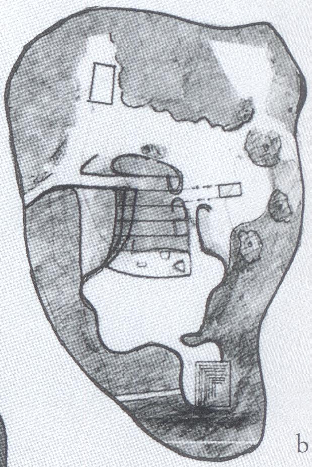 LC Ronchamp, studio di planimetria