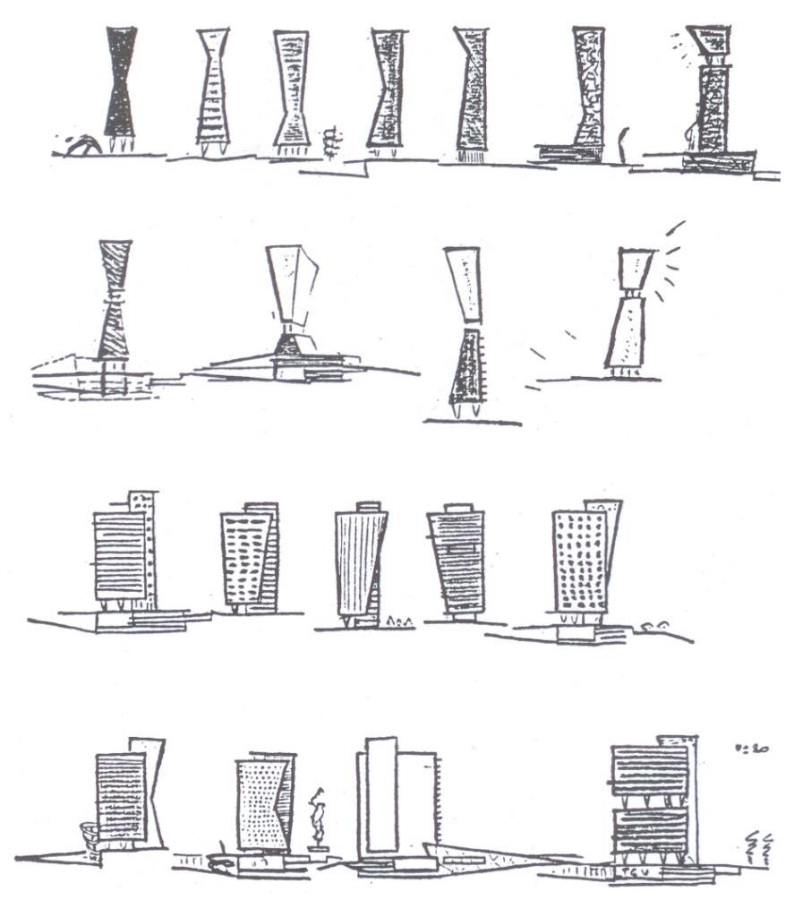 Koolhaas, studi delle torri a Lille