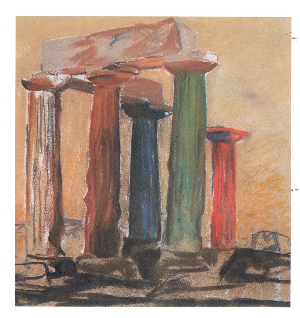 Kahn, tempio greco