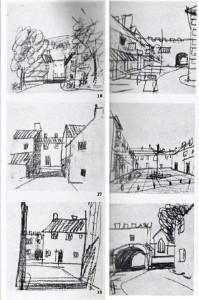Cullen, storyboard borgo rurale
