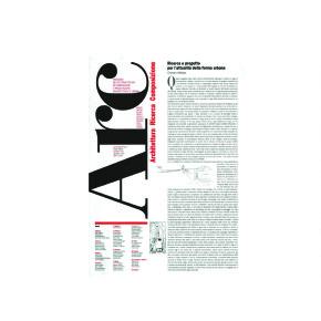 On–line, pubblicistica d'architettura, arcduecittà: scrittura architettonica_comunicazione. Ernesto d'Alfonso