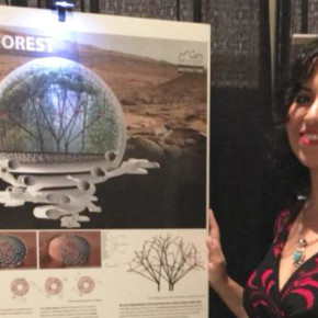 "Valentina Sumini , ha vinto il concorso bandito dalla NASA ""Mars City Design Competition 2017""."