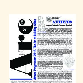 [Athens 2016. The art of building cities – Arch2città@Magazine Numero speciale] esce oggi – visita la sezione 'i numeri' e scarica gratuitamente il pdf.