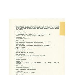 La Cartella E.N.R. di Epifanio Li Calzi. - Ernesto d'Alfonso