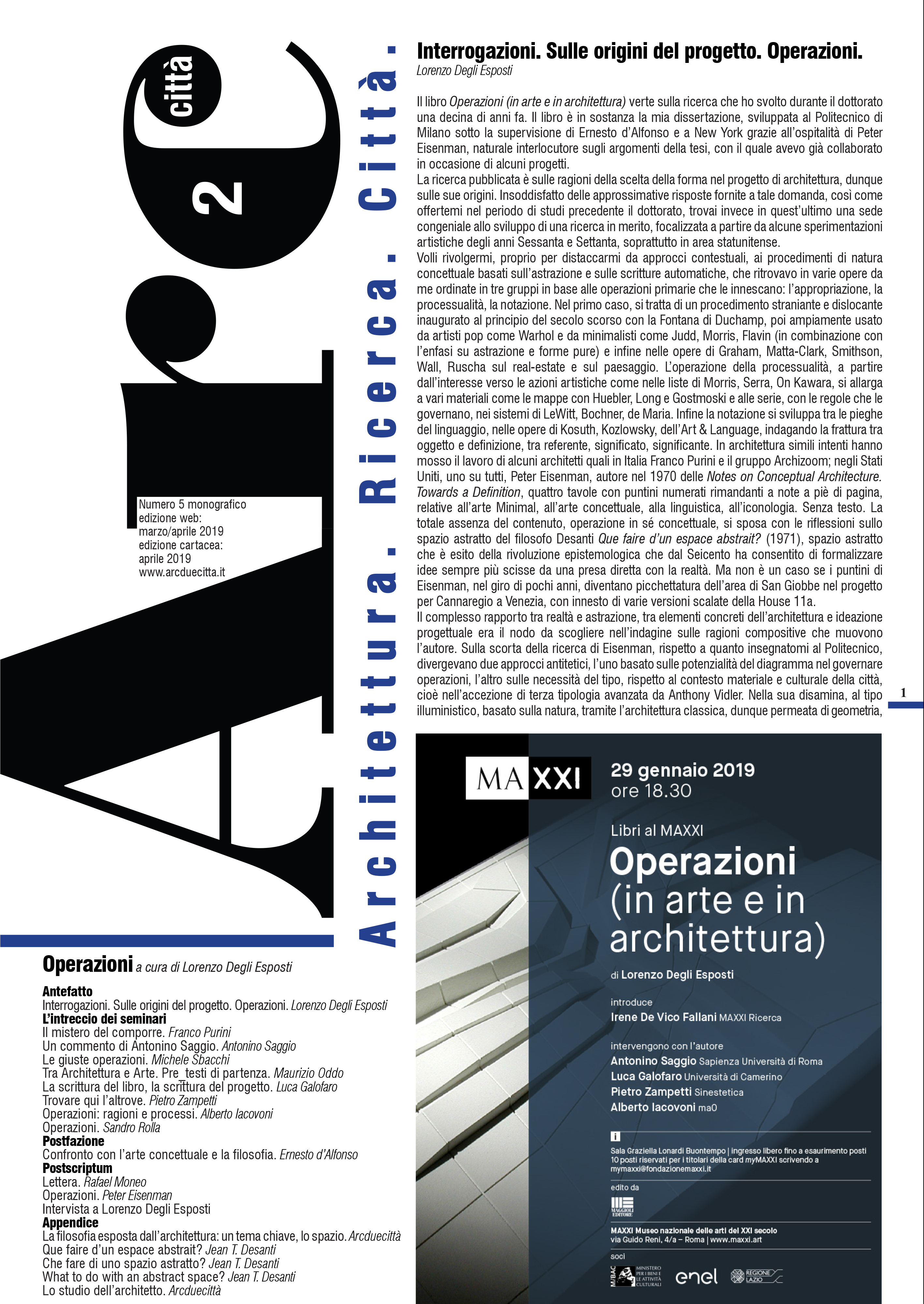 ARCDUECITTA_OPERAZIONI_2019_cover