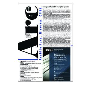 On – line: Arcduecittà n° monografico – Operazioni (in arte e in architettura) a cura di Lorenzo Degli Esposti – visita la sezione 'il numero' e scarica gratuitamente il pdf