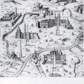 1_Unknown engraver, The seven privileged churches of Rome, 1589.