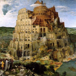 1563 Pieter Bruegel the Elder. Tower of Babel