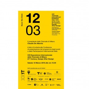 XXI International Exposition of Triennale di Milano, Design after Design